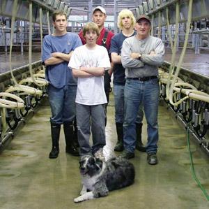 Miller's Dairy Team